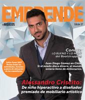 emprende + negocios - Magazine cover